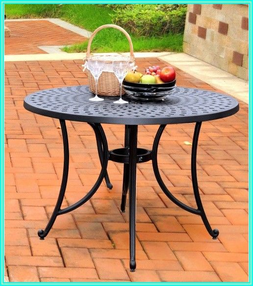 Cast Aluminum Patio Table