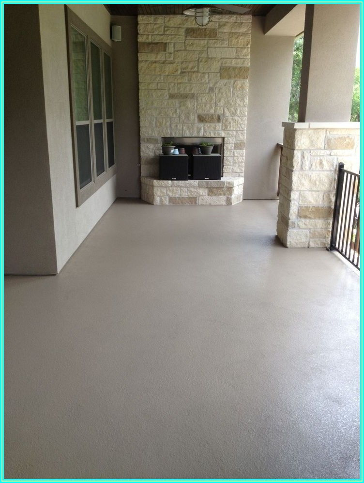 Concrete Patio Paint Ideas