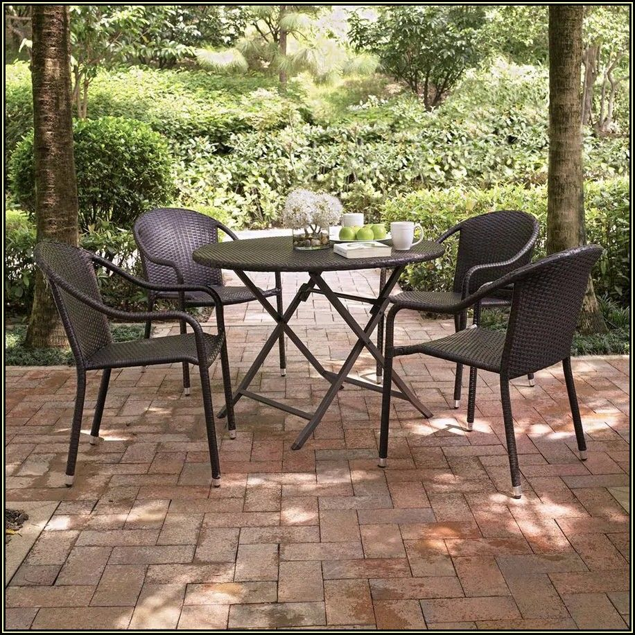 Dark Brown Wicker Patio Furniture