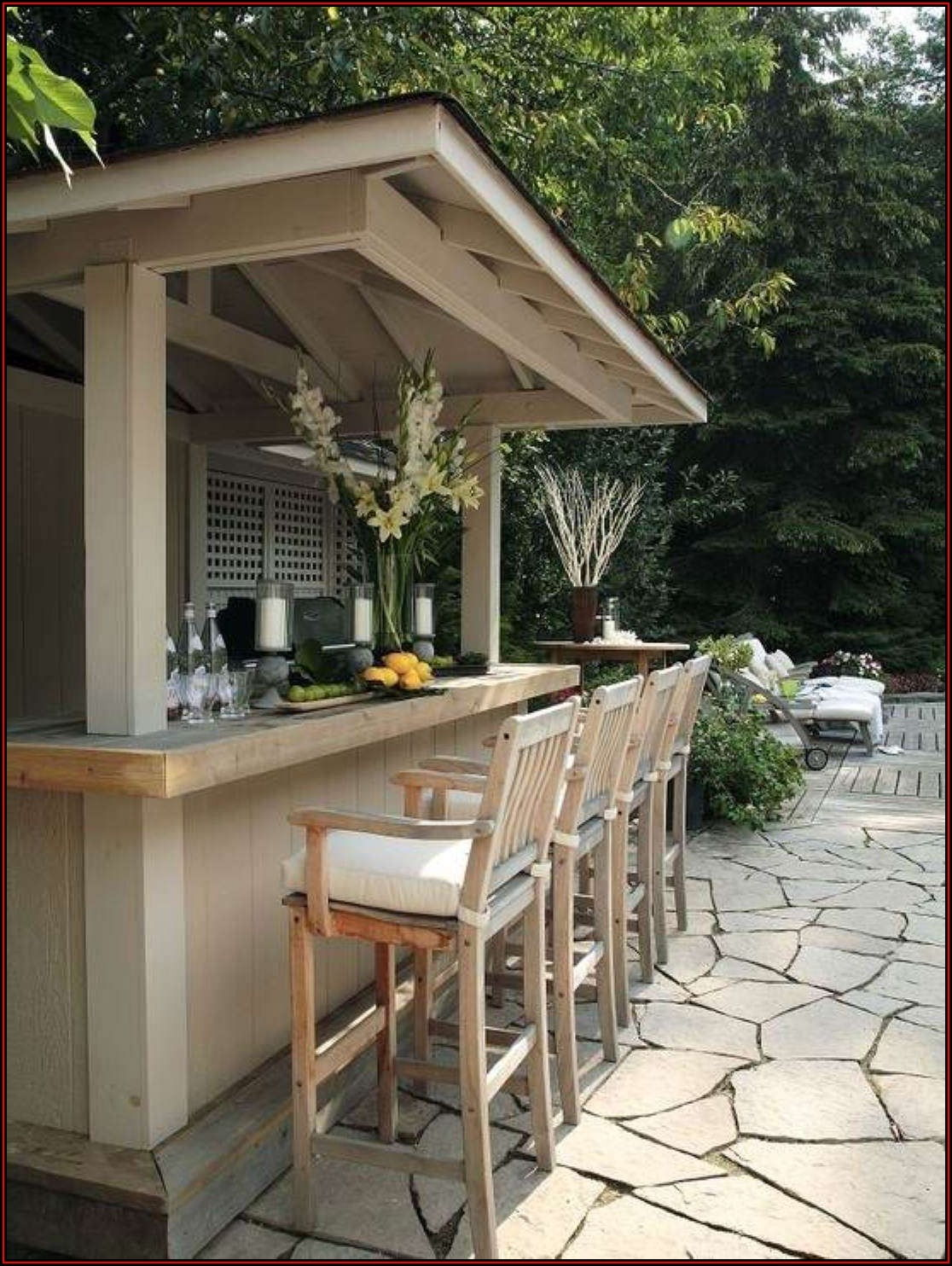 Diy Outdoor Patio Bar Ideas