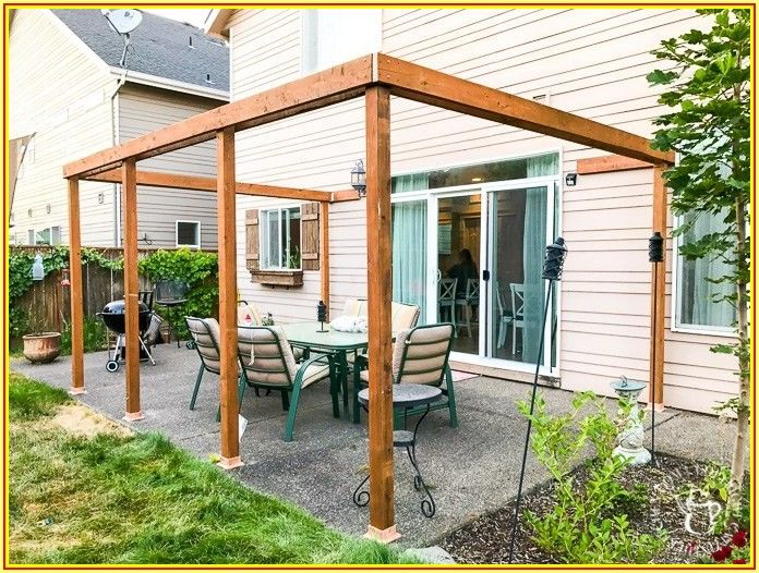 Diy Patio Cover Plans