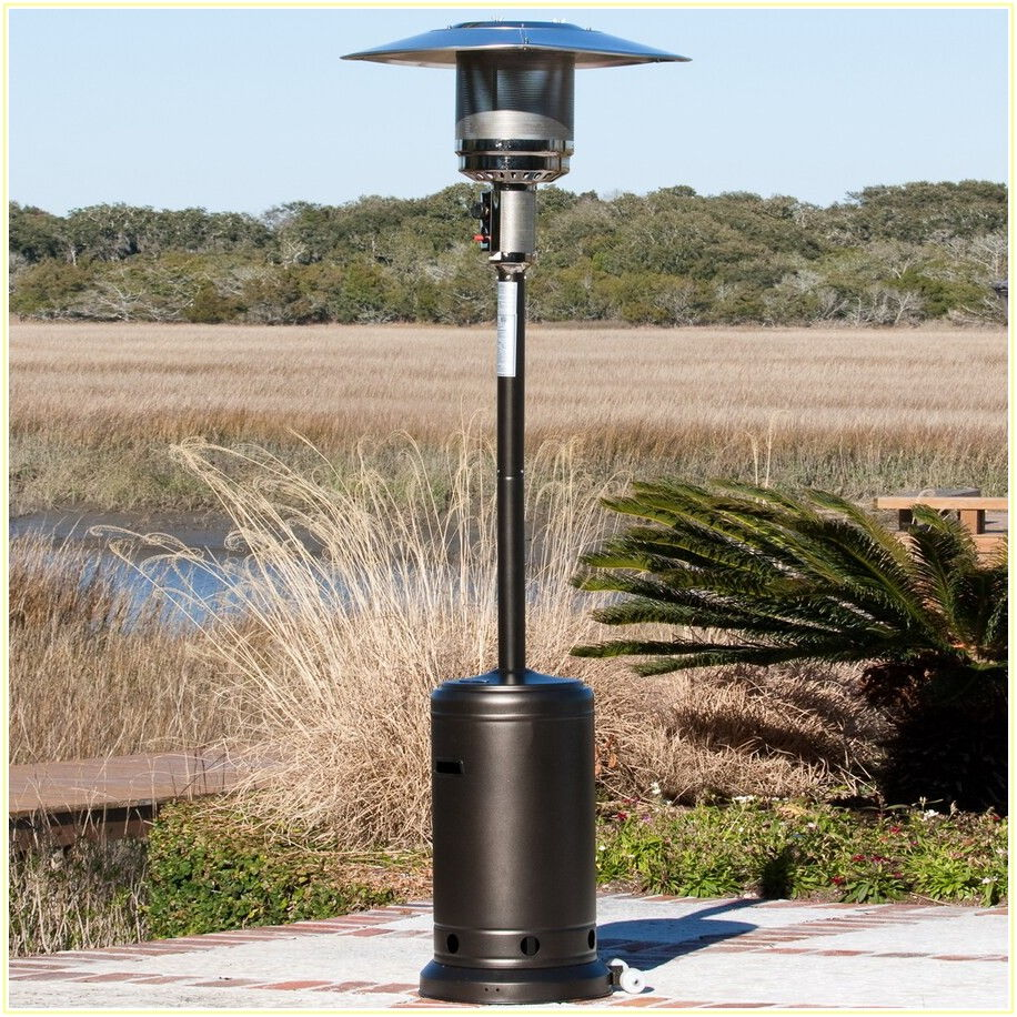 Fire Sense Patio Heater Mocha
