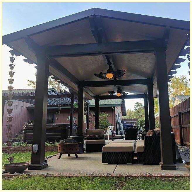 Free Standing Alumawood Patio Covers