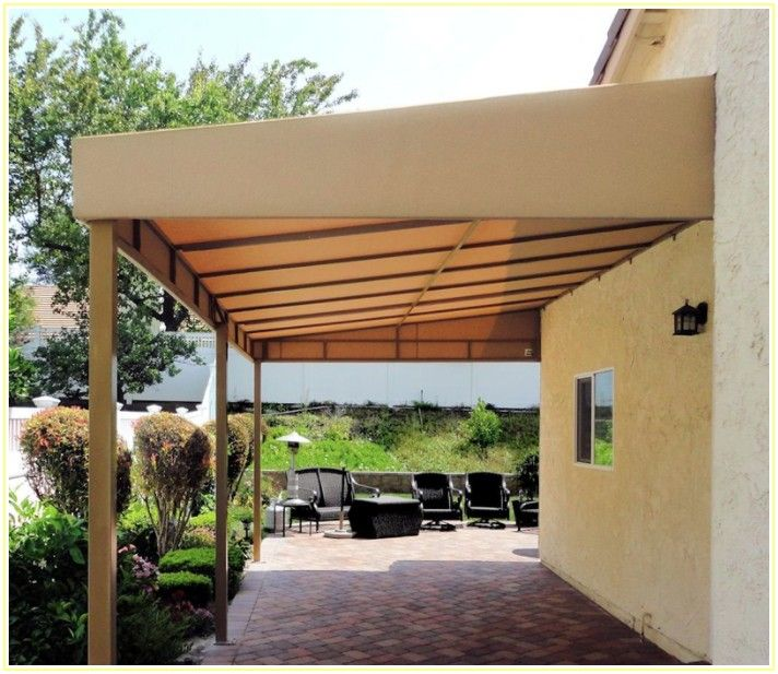 Free Standing Canvas Patio Covers