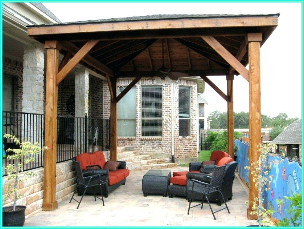 Free Standing Lean To Patio Cover Plans