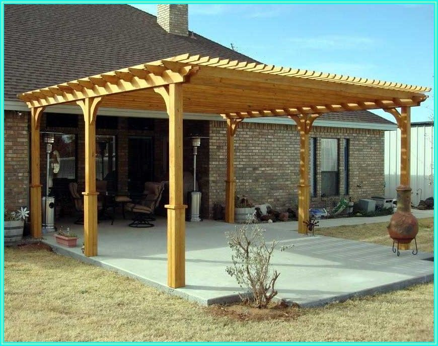 Free Standing Patio Cover Plans Pdf