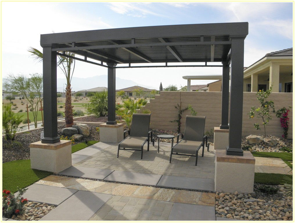 Free Standing Patio Covers Aluminum