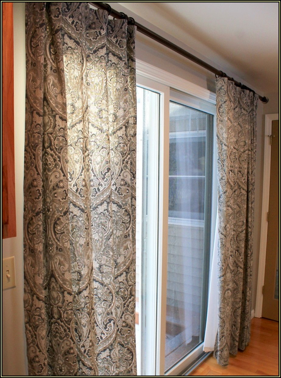 Glass Doors Patio Door Curtain Ideas