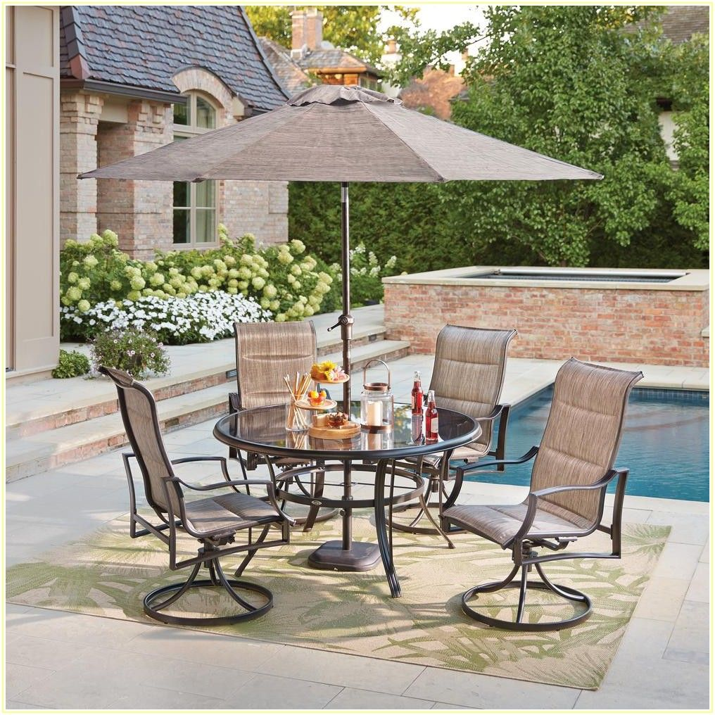 Hampton Bay 5 Piece Patio Set