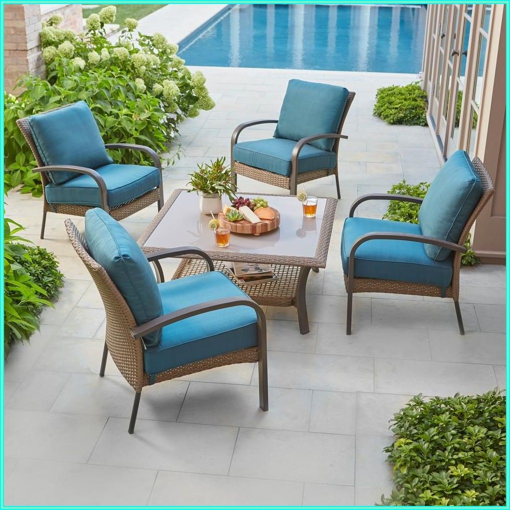 Hampton Bay Wicker Patio Furniture Cushions