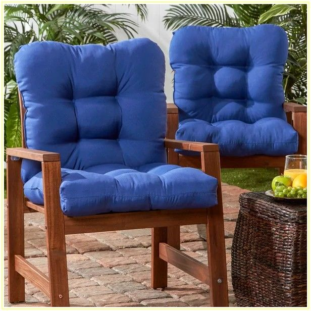 High Back Patio Chair Cushions Set Of 4