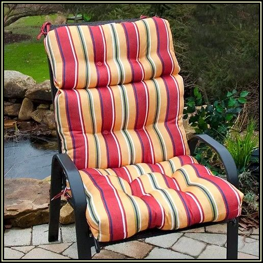 High Back Patio Chairs With Cushions