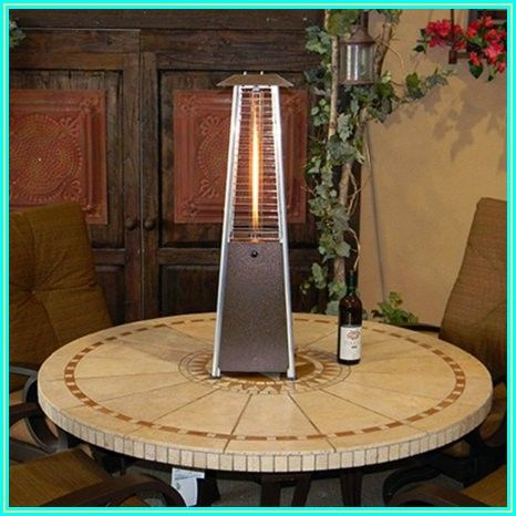 Hiland Glass Tube Patio Heater