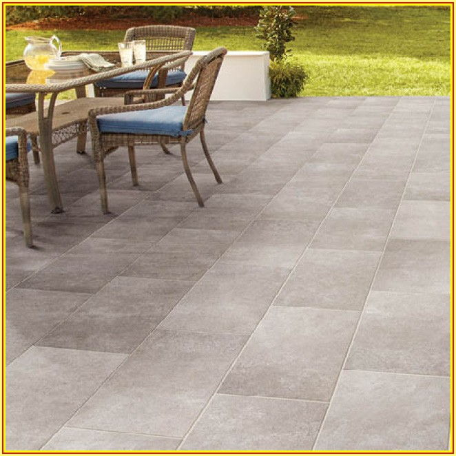 Home Depot Patio Flooring Tiles