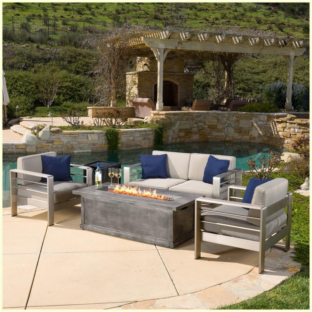 Home Depot Patio Furniture With Fire Pit