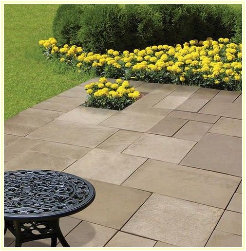 Home Depot Patio Stones 16x16