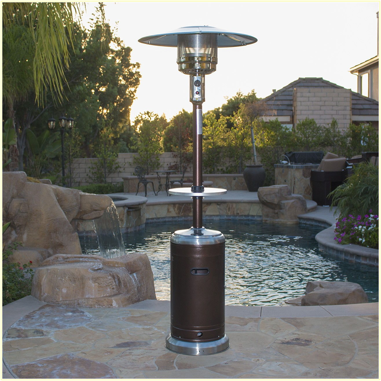 Home Depot Patio Table Heater