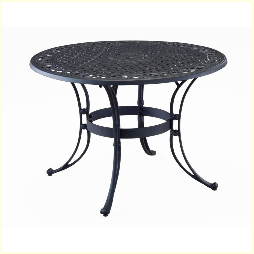 Home Depot Patio Tables Round