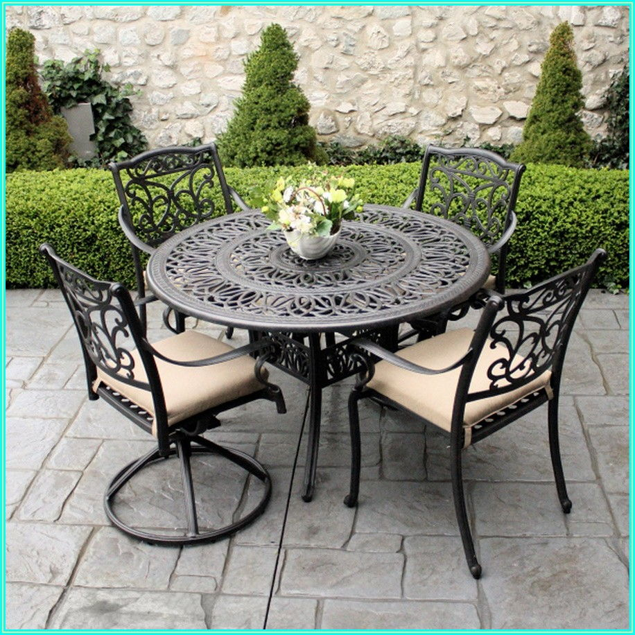 Home Depot Wrought Iron Patio Furniture