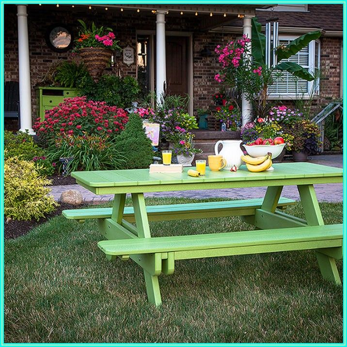 Inexpensive Instant Patio On Grass