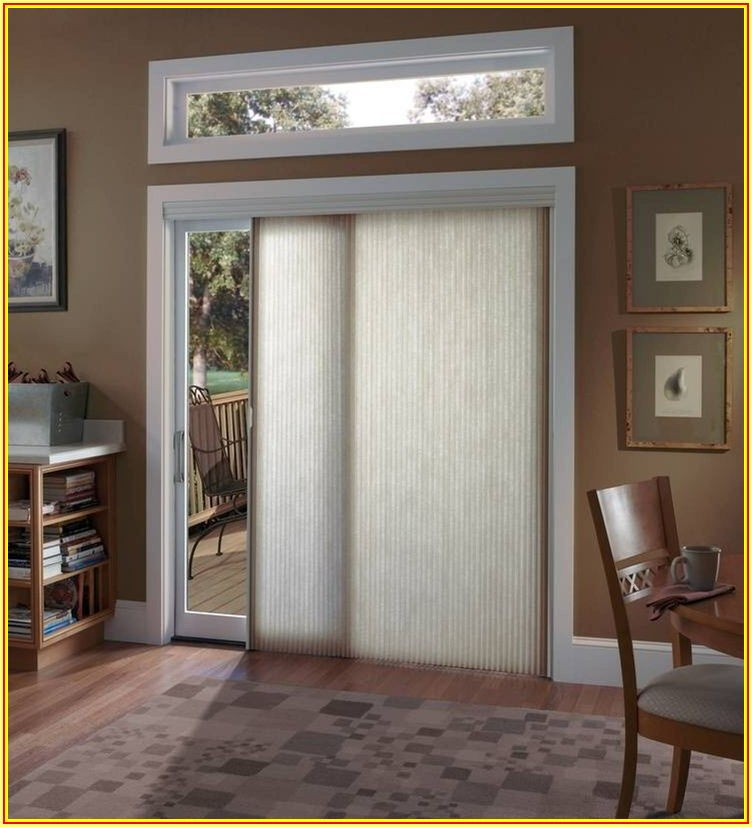 Large Patio Door Covering Ideas