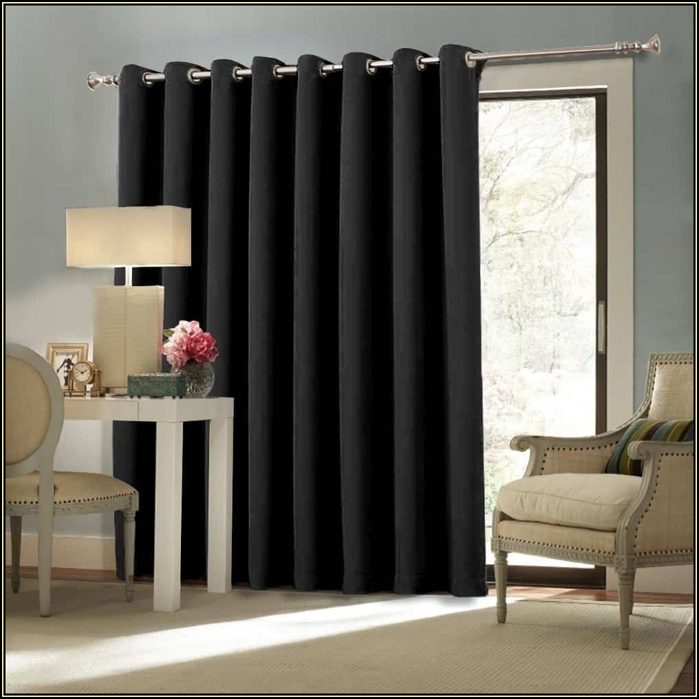 Large Patio Door Curtain Ideas