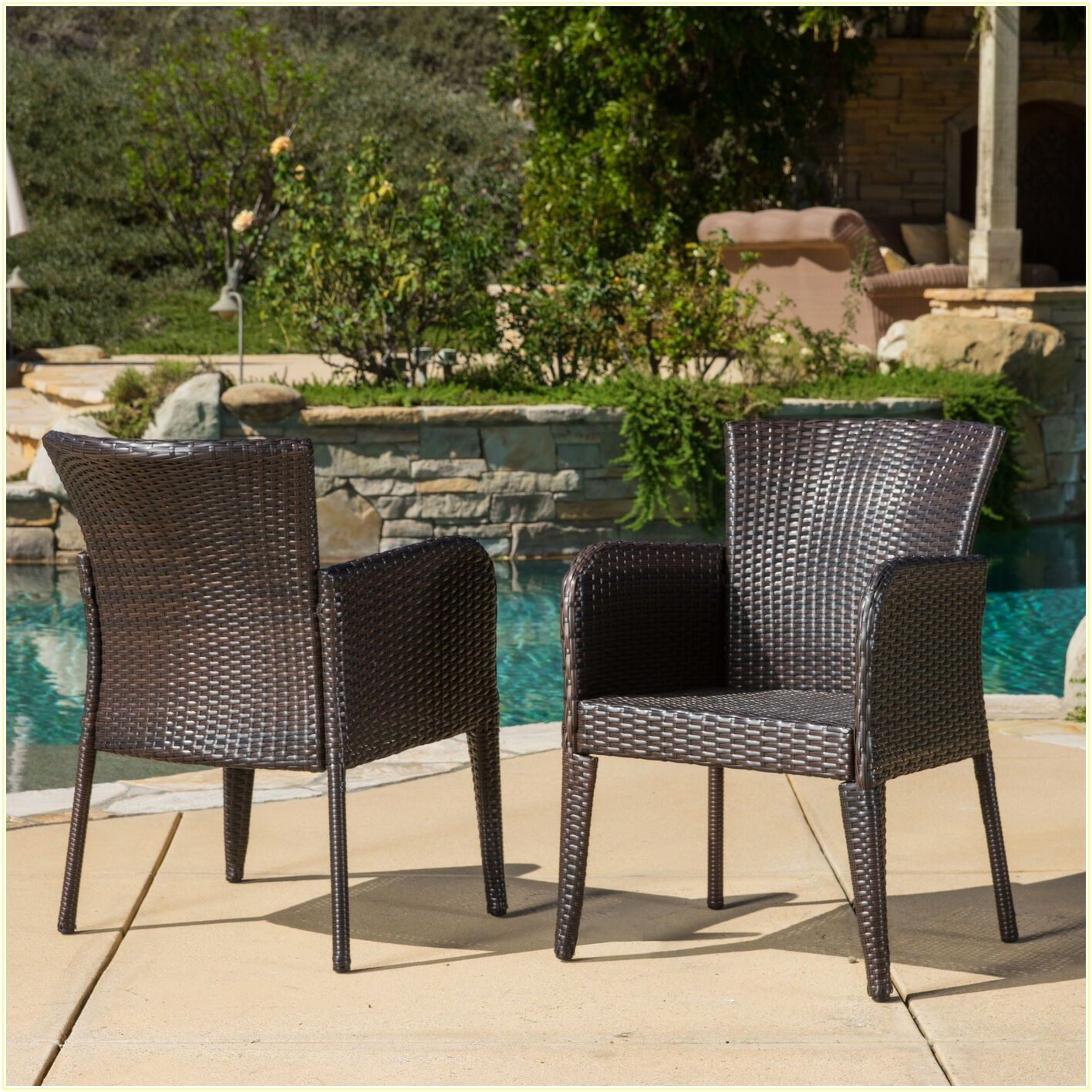 Modern 3 Piece Patio Set
