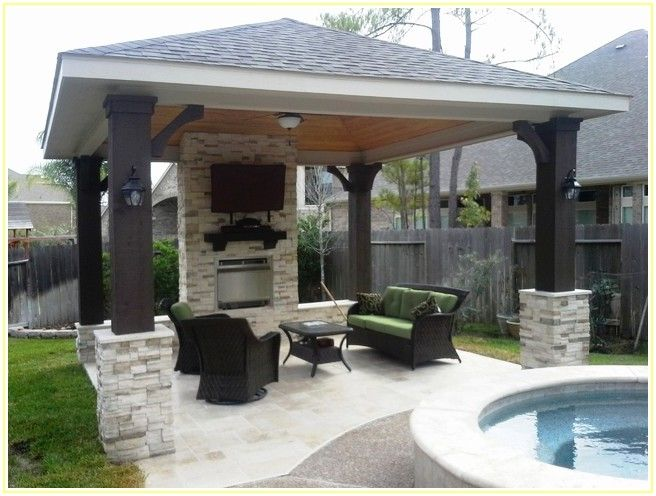 Modern Free Standing Patio Covers