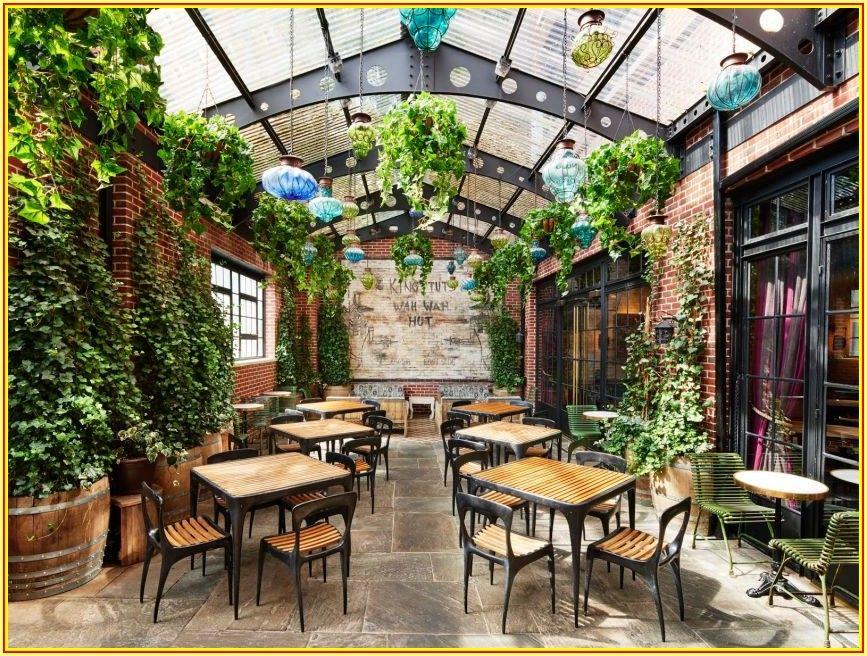 New Yorker Patio Bar Menu