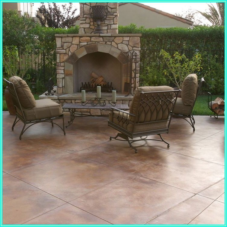 Outdoor Concrete Patio Paint Ideas