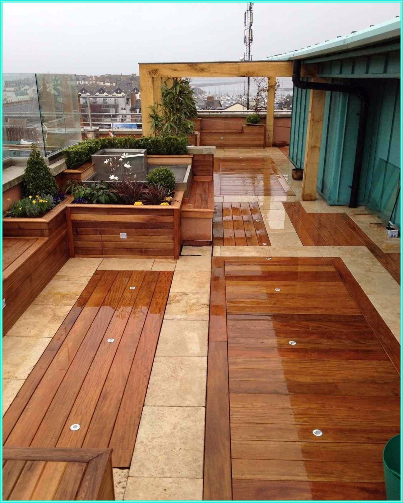 Outdoor Covered Patio Flooring Ideas