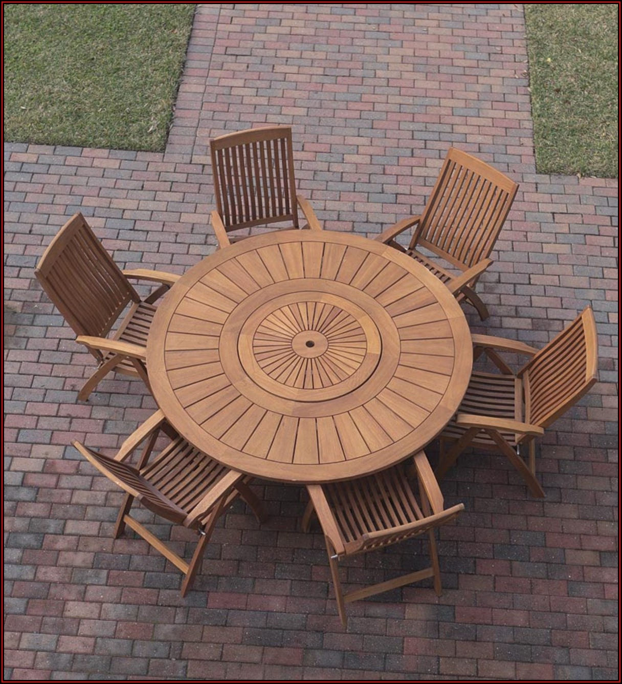 Outdoor Lazy Susan For Patio Table