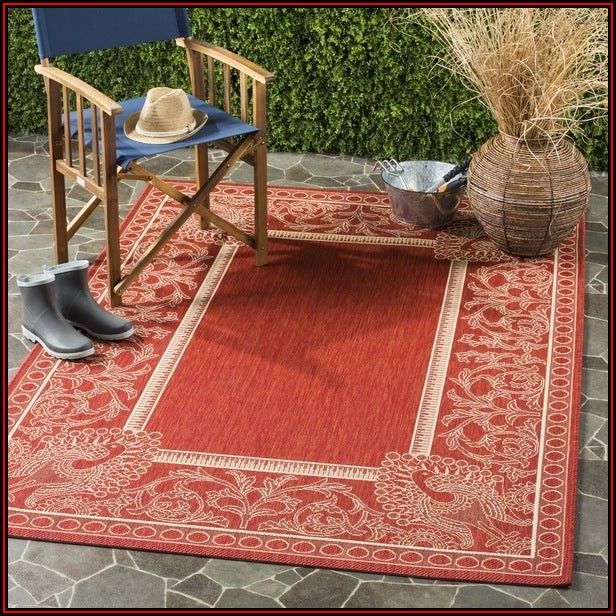 Outdoor Patio Rugs 9x12