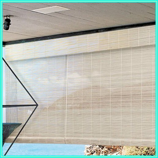 Patio Bamboo Roll Up Blinds