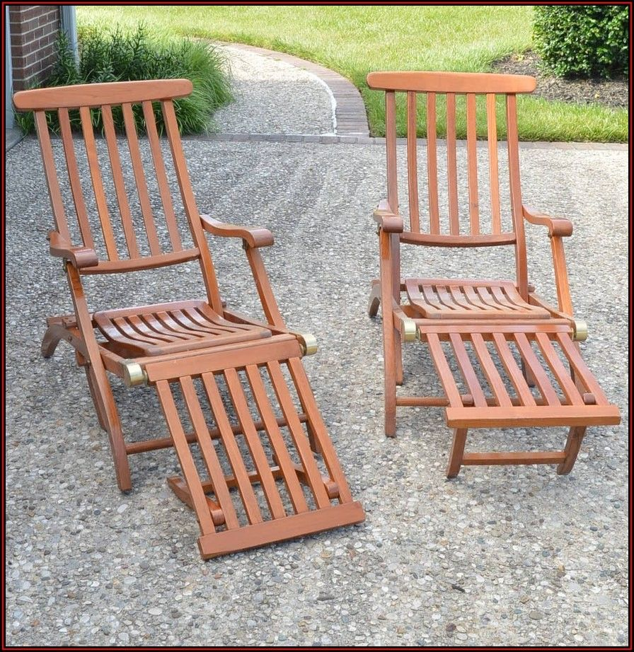 Patio Chair With Footrest