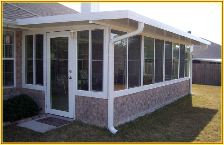 Patio Enclosure Sunroom Kits Home Depot
