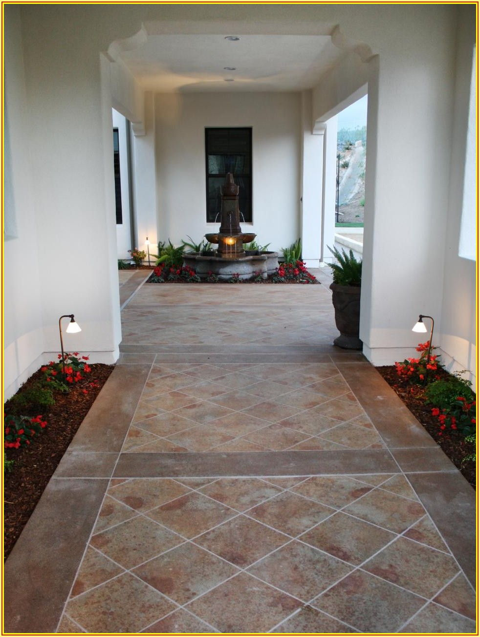 Patio Flooring Ideas Over Concrete