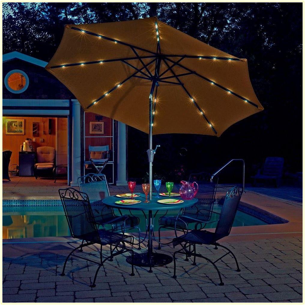 Patio Umbrella With Lights Costco