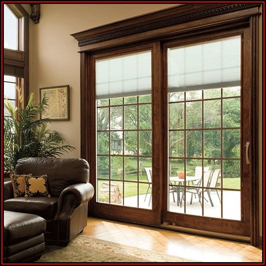 Pella Patio Doors With Blinds