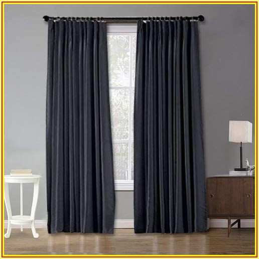 Pinch Pleat Patio Door Curtains