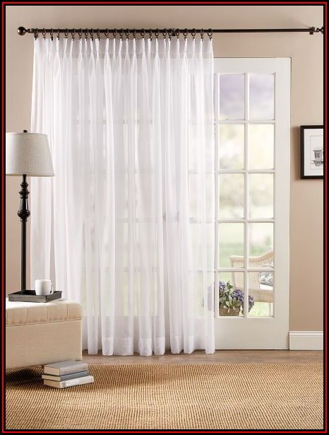 Pinch Pleated Patio Door Drapes