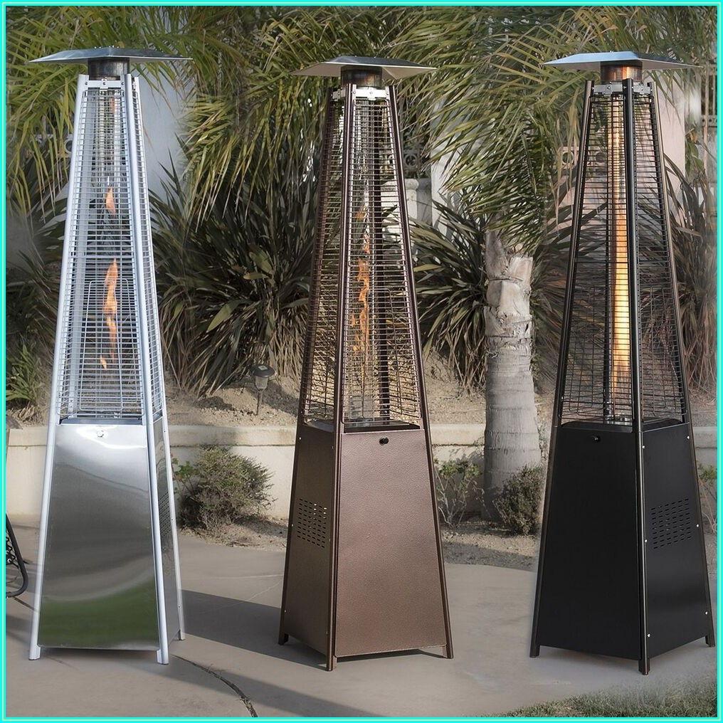 Pyramid Glass Tube Patio Heater