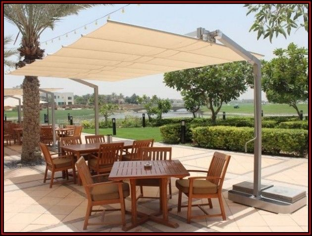 Rectangular Offset Patio Umbrella