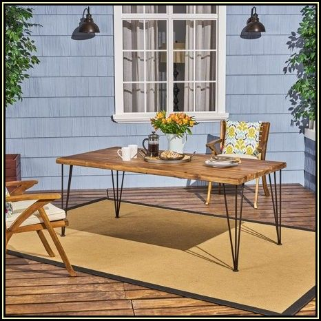 Rectangular Patio Dining Table Cover