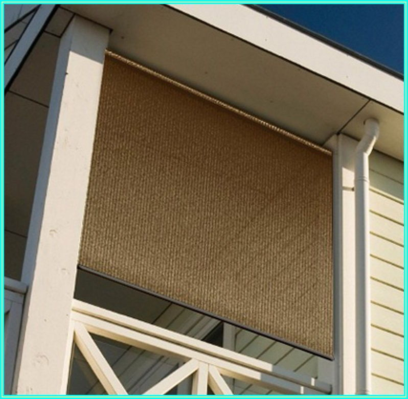 Roll Up Outdoor Patio Blinds
