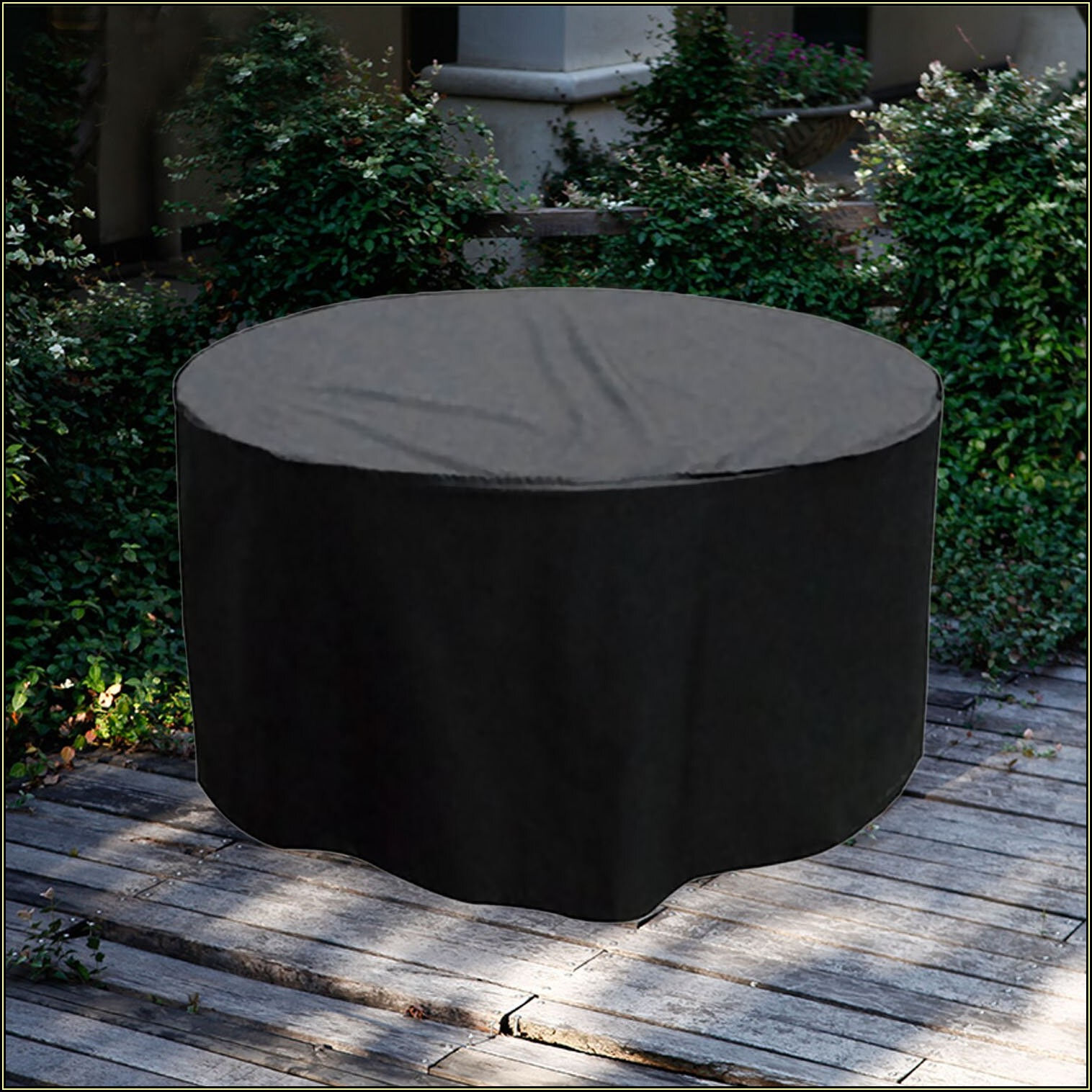 Round Patio Table Covers Waterproof