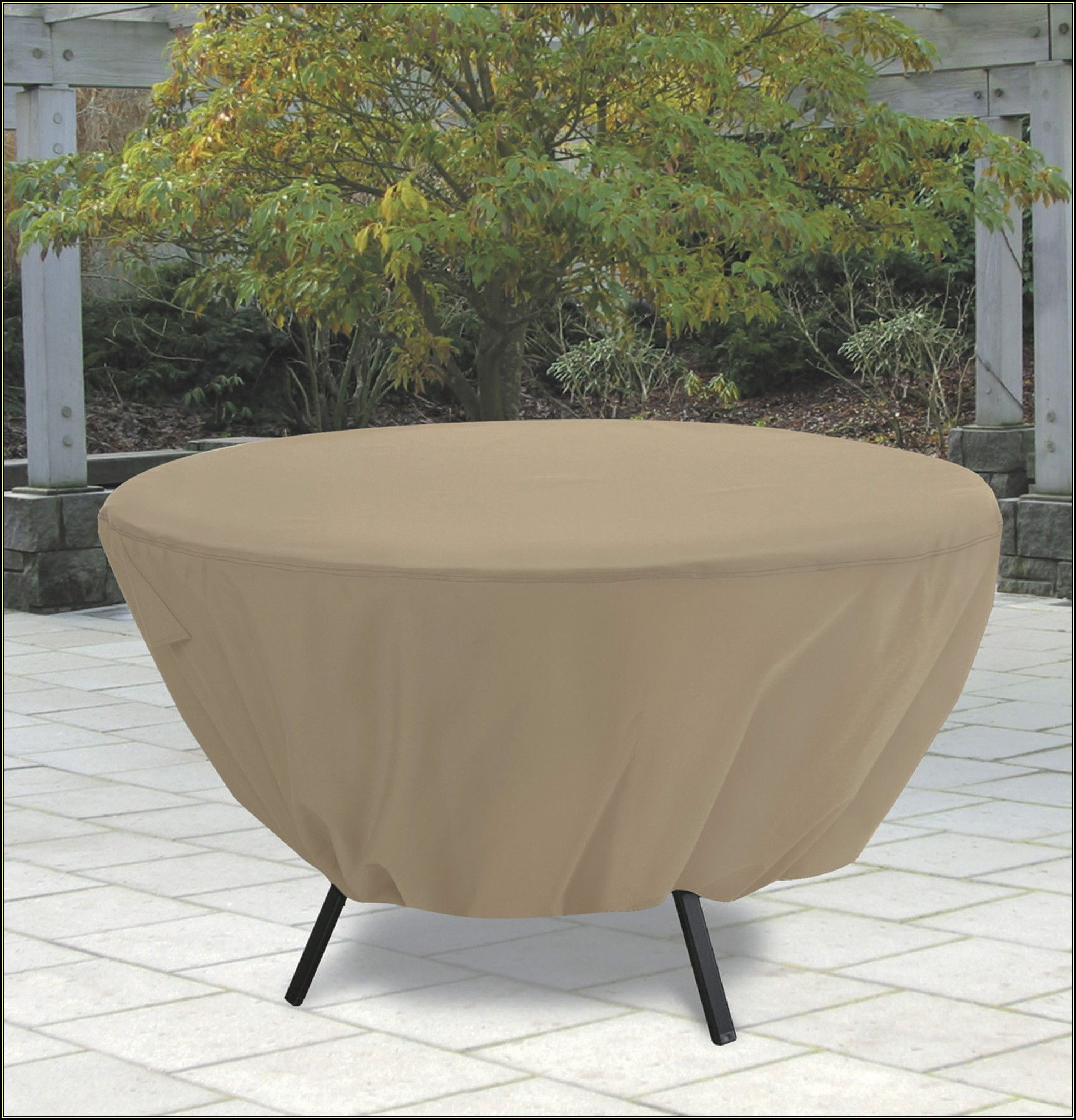 Round Patio Table Covers With Umbrella Hole