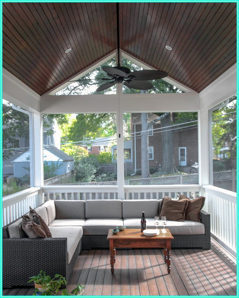 Screened Porch Enclosed Patio Ideas On A Budget