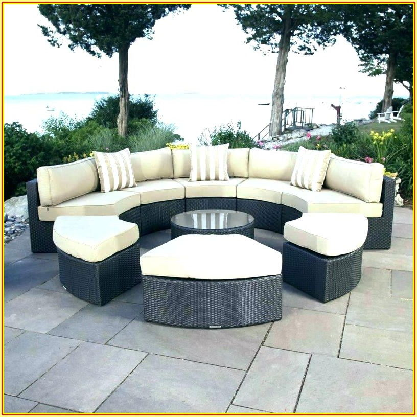 Semi Circle Patio Furniture Cushions