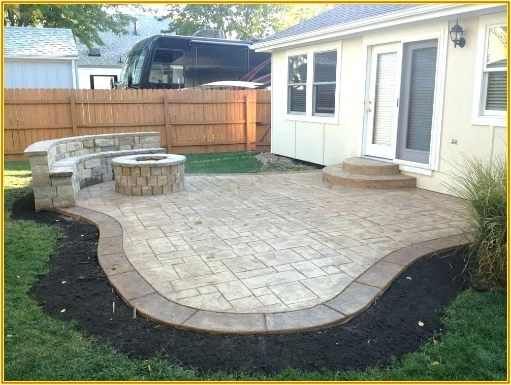 Simple Concrete Patio Design Ideas